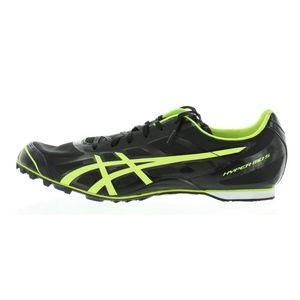 Mens Black Flash Yellow Hyper MD 5 Running Shoes